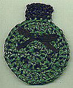 PHOTO CHRISTMAS ORNAMENT Crochet Pattern - Free Crochet