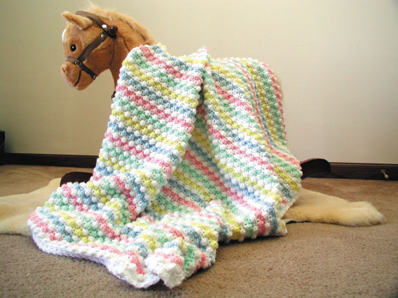 Crochet Blanket Patterns Free Baby : BABY CROCHET AFGHAN PATTERNS