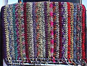 The Ultimate Book of Scrap Afghans: Crochet | Afghan