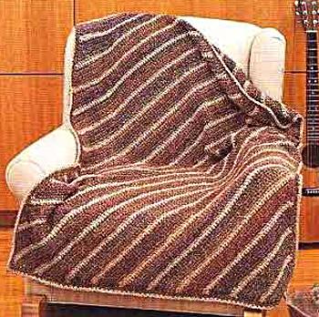 Diagonal Crochet Afghan Pattern