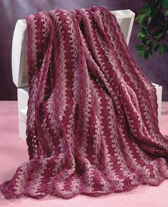Free Crochet Pattern Quick : MILE A MINUTE CROCHET AFGHAN PATTERN ? Easy Crochet Patterns