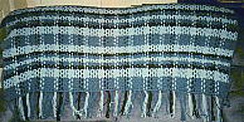 Plaid Crochet Afghan Pattern