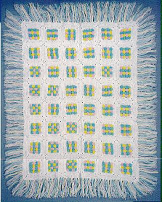 woven afghan free pattern | crochet | Pinterest