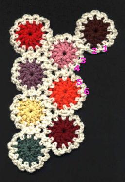 Free Crochet Yoyo Afghan Pattern : Zig-Zag Yo-Yo Crochet Afghan Pattern