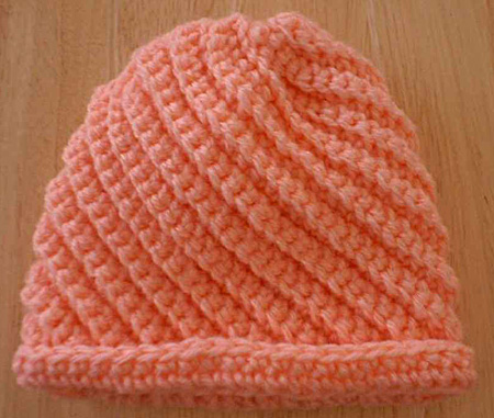Ribbed Hat - CrochetN'Crafts | FREE Crochet Patterns & More