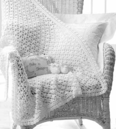 Free Crochet Pattern For Lacy Baby Blanket : 1000+ images about Crochet blankets on Pinterest