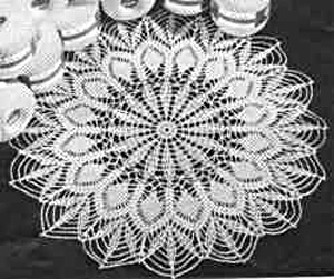 Doilies on Demand: hand crochet doilies, runners, table toppers