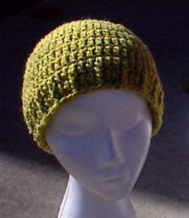 Double Crochet : Crochet a Basic Beanie Tutorial - Half Double Crochet