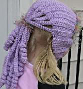 Free Crochet Pattern Ponytail Hat : Knitted Ponytail Hat Pattern submited images.