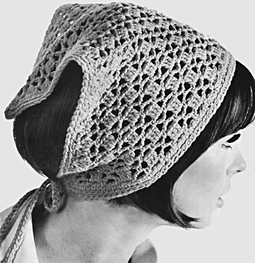 Ponytail Crocheted Hat Pattern