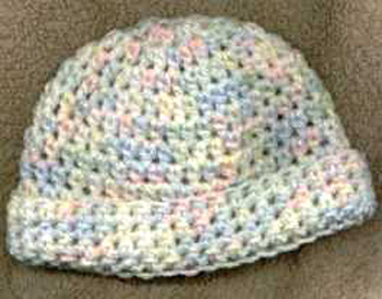 free easy crochet baby hat pattern