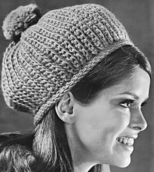 Simple Knit Baby Hat w/ Pom Pom (Free Pattern)   Fabric Follies Two
