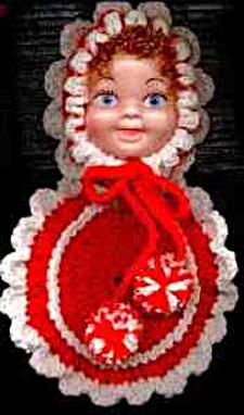 Doll Face Pot Holder Pattern