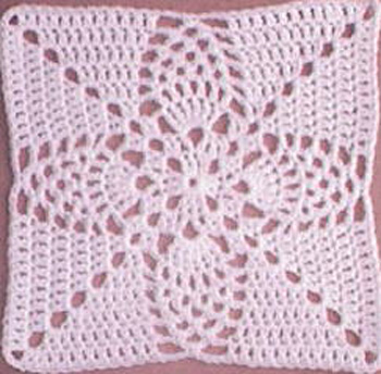 Crochet Geek : Crochet Traditional Granny Square