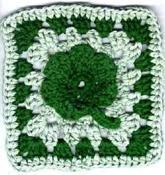 Vintage Crochet Bag Patterns – A Shamrock and Rose Bag