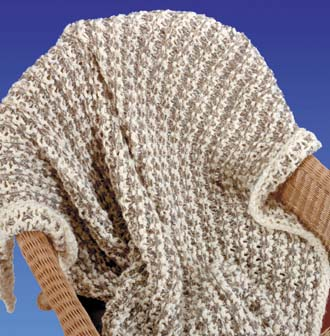 Free Afghan Knitting Pattern Sweet Cables Baby Blanket Pictures to pin ...