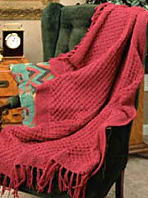 Free Knitting Pattern 80115ad Winter Lace Afghan Lion : FREE KNITTING PATTERN THROW OR AFGHAN - VERY SIMPLE FREE ...