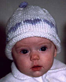 Knitting Pattern For Rolled Brim Baby Hat : KNITTED HAT WITH BRIM PATTERN 1000 Free Patterns