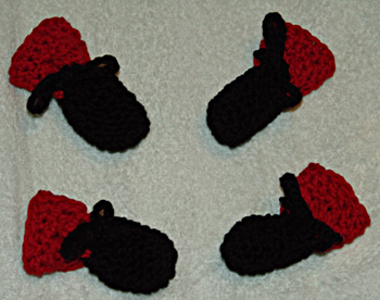 Free Crochet Pattern For Small Dog Booties : Crochet Dog Booties Pattern