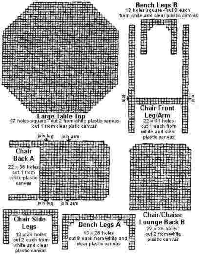 Dolls Furniture Patterns 171 Free Patterns