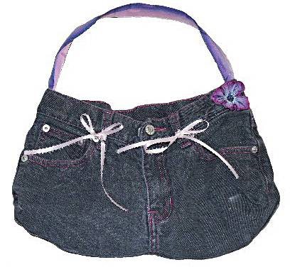 Make a Purse out of Jeans - About