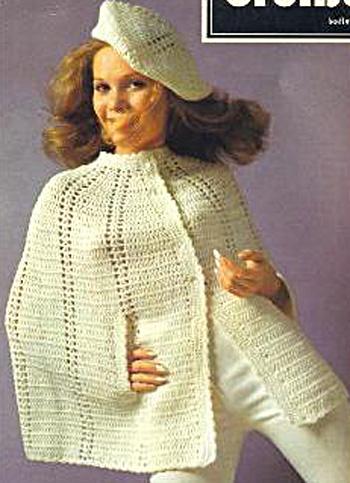 Crochet Pattern Cape Free Patterns For Crochet